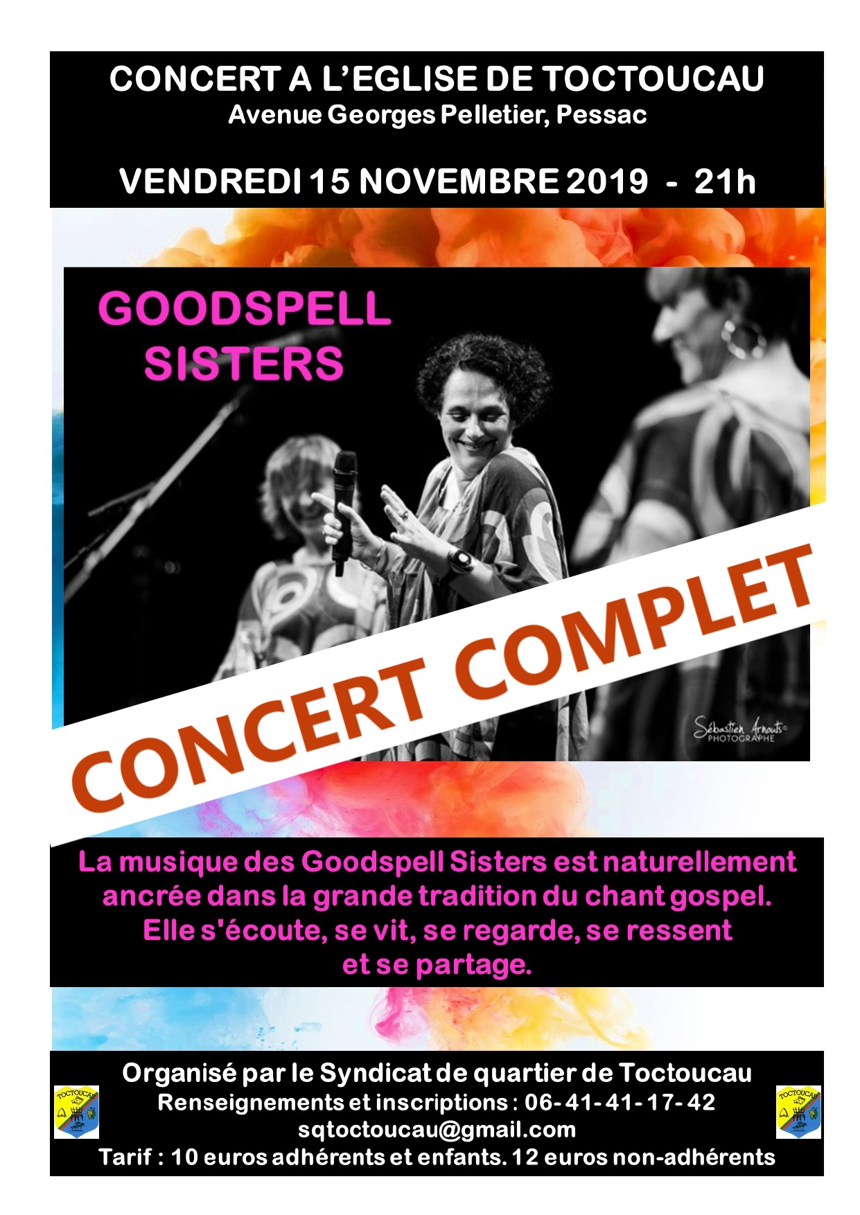 AFFICHE GOODSPELL complet